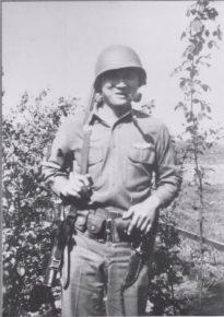 Henry Kodama in Hemer, Germany WWII